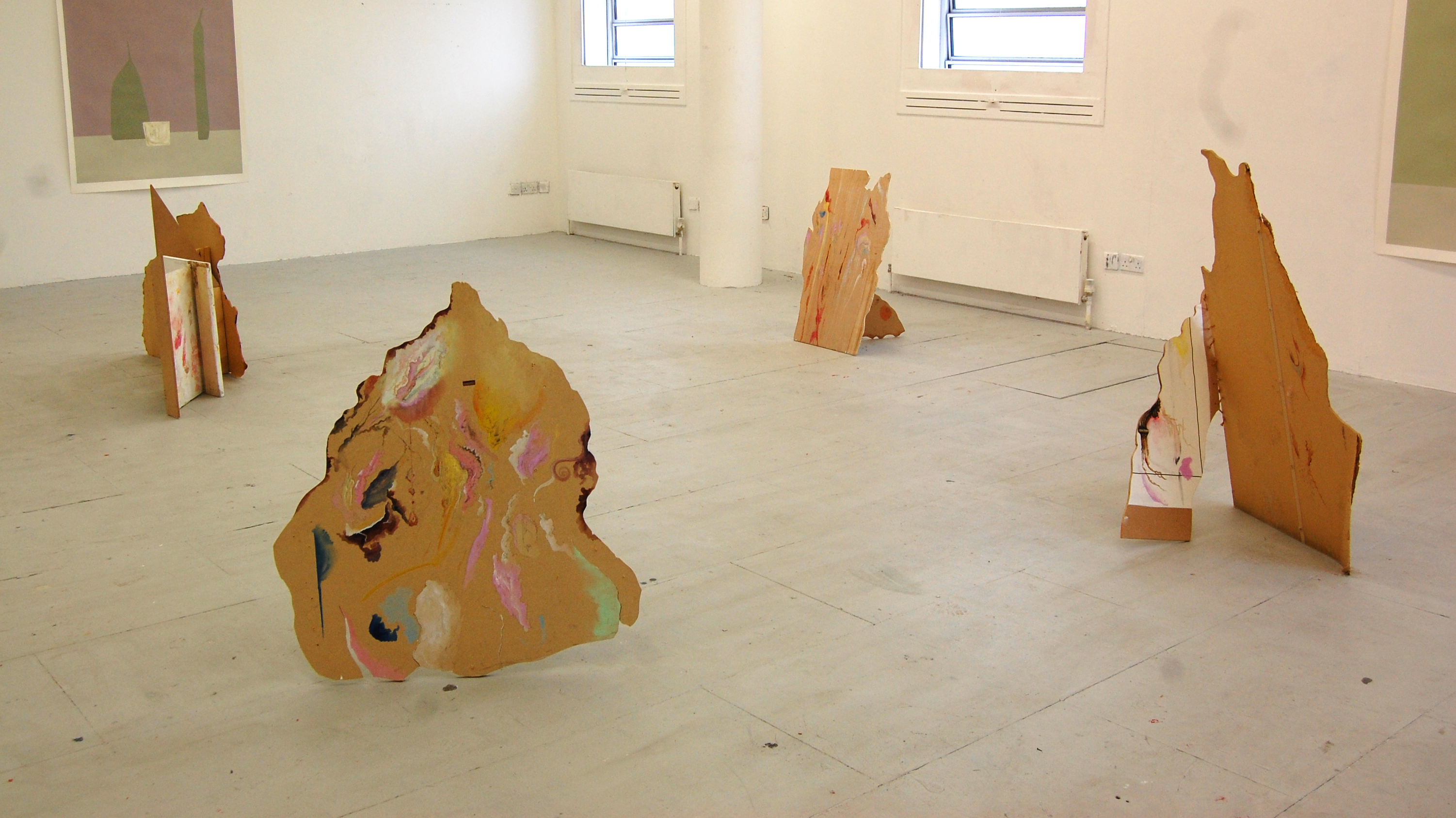 painting installation exhibition contemporary
